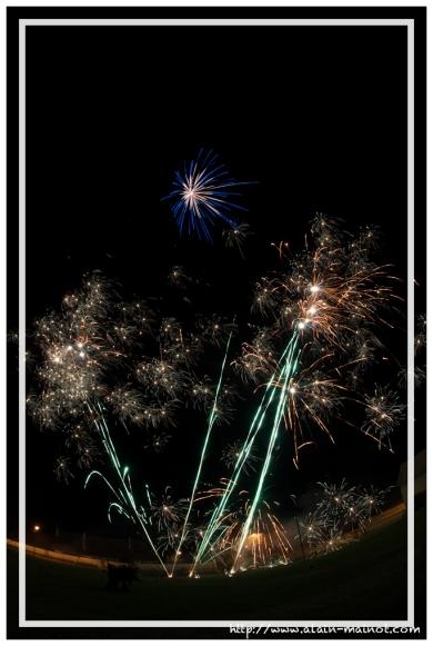 Foire à tout 2012 - Feu d'artifice