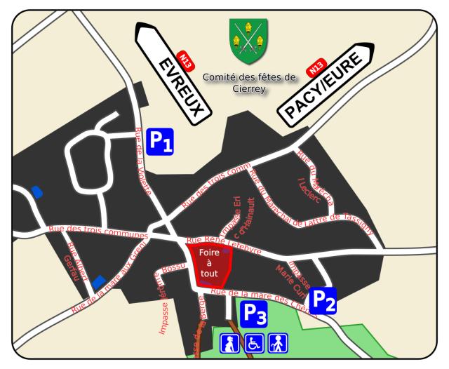 Plan des parkings 2015